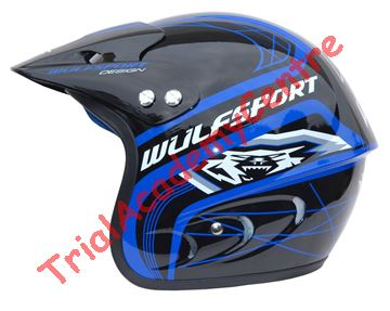 Immagine di Casco WulfSport  Action Blue