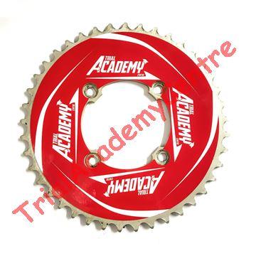 Immagine di Adesivo corona Trial Academy 41-46 Red