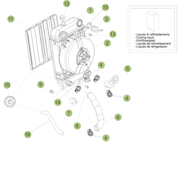 Immagine per la categoria Ricambi radiatori