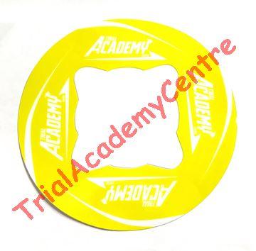 Immagine di Adesivo corona Trial Academy 41-46 Yellow
