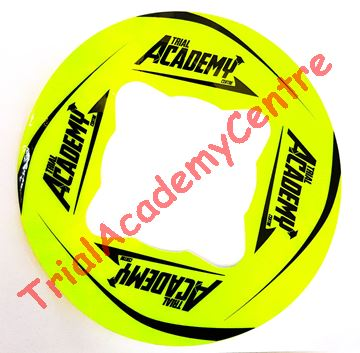 Immagine di Adesivo corona Trial Academy 41-46 Fluo e Black