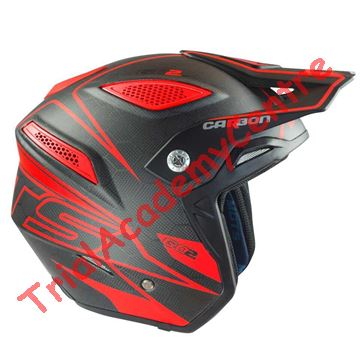 Immagine di Casco MOTS Go2 Carbon Red