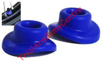 Immagine di Copertura valvole pneumatici in silicone Blue