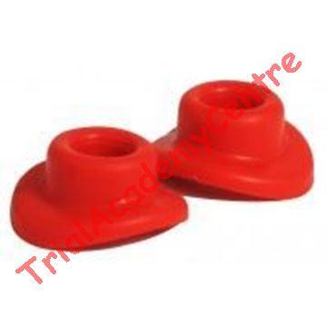 Immagine di Copertura valvole pneumatici in silicone red