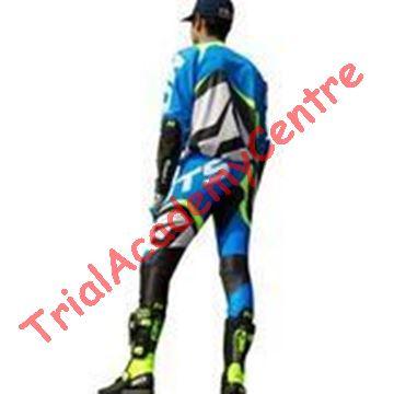 Immagine di Completo Mots Rider2 blue