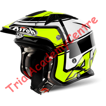 Immagine di Casco Airoh TRR S Wintage yellow gloss