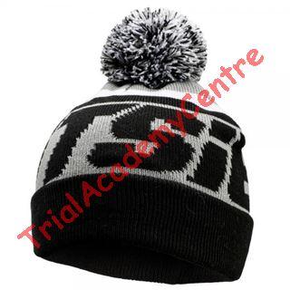 Immagine di Cappello di lana con pon pon Jitsie Black/Grey