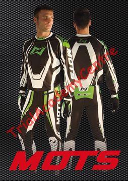 Immagine di Completo Mots step nero e verde