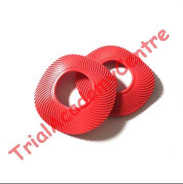 Immagine di Coppia anelli in gomma per Manopole red
