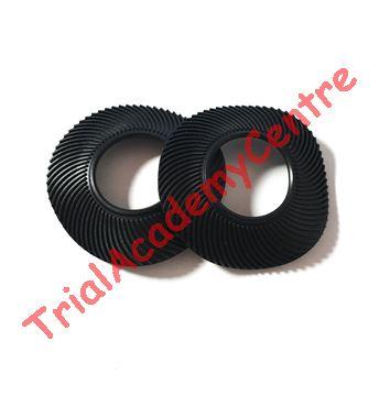 Immagine di Coppia anelli in gomma per Manopole black