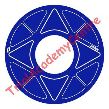Immagine di Adesivo corona Jitsie 41-44 blue