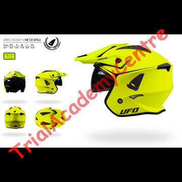 Immagine di Casco Ufo Sheratan 2020 giallo fluo