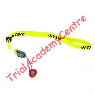 Immagine di Laccio arresto motore Jitsie yellow fluo con magnete