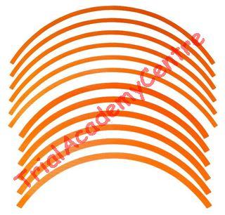 Immagine di Kit adesivi cerchi Montesa Repsol