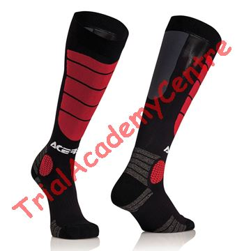 Immagine di Calzino Acerbis Mx impact Black/Red