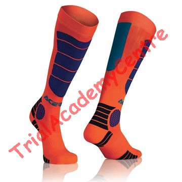 Immagine di Calzino Acerbis Mx impact Orange/Blue