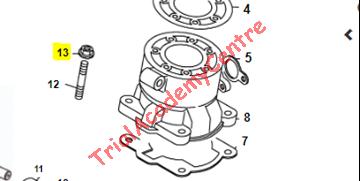 Immagine di Dado fissaggio cilindro Beta