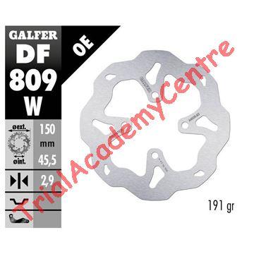 Immagine di Disco Freno posteriore Galfer DF809W