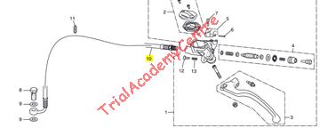 Immagine di Tubo frizione Montesa 4rt 2014-2020