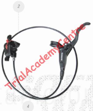 """Immagine di Impianto freno Anteriore Mini trial Elettrico Beta 16""""/20"""""""