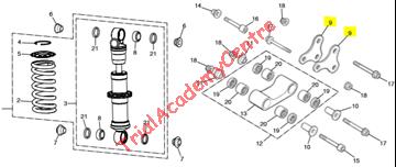 Immagine di Bilanciere triangolo leveraggi Montesa 2001-2020