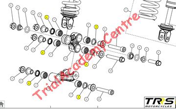 Immagine di Parapolvere leveraggio TRS