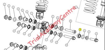 Immagine di Cuscinetto trapezio ammortizzatore Trs