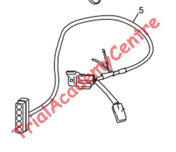 Immagine di Impianto luci led mascherina Montesa 2020