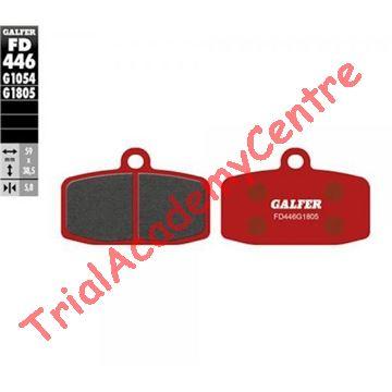 Immagine di Pastiglie freno anteriore Galfer rosse FD446