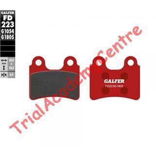 Immagine di Pastiglie freno anteriore Galfer rosse FD223