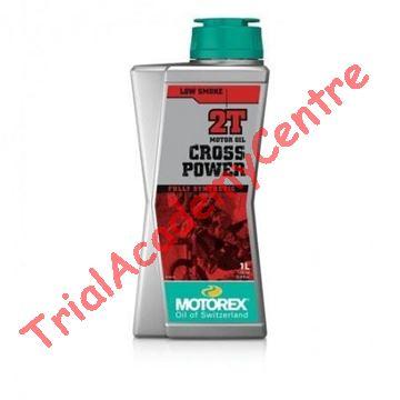 Immagine di olio miscela motorex cross power 2t