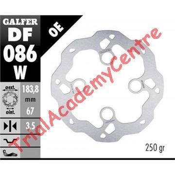 Immagine di Disco Freno Anteriore Galfer DF086W