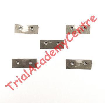 Immagine di Kit denti in acciaio per Piastra Paramotore TRIAL ACADEMY