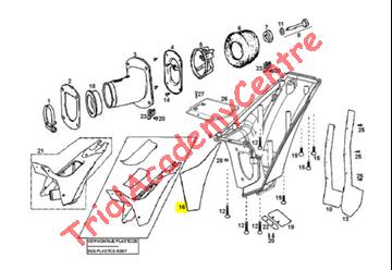 Immagine di Protezione calore cassa filtro Gas Gas