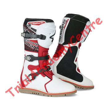 Immagine di Stivali Stylmartin impact pro bianco-rosso