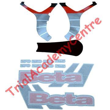 Immagine di Kit adesivi telaio Beta Rev 3 2006
