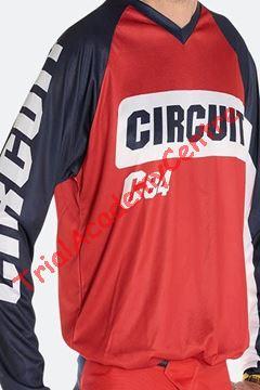 Immagine di Maglia Circuit Marea Bianco-Rosso-Blu