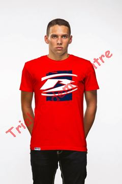 Immagine di T-Shirt Beta full red logo